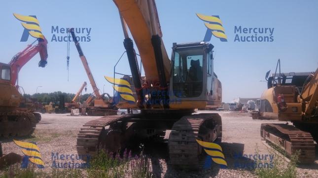 Escavatore cingolato New Holland E485 -movimento terra- asta online-usato (3)