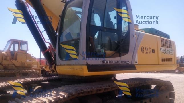 Escavatore cingolato New Holland E485 -movimento terra- asta online-usato (5)