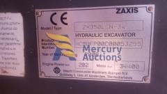 Escavatore cingolato Hitachi ZXX350- movimento terra - usato asta online (6)