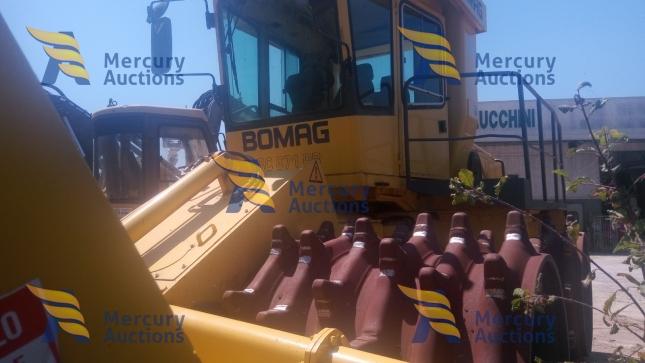 Compattatore rifiuti solidi Bomag BC 671 EB- compattatore usato online (7)