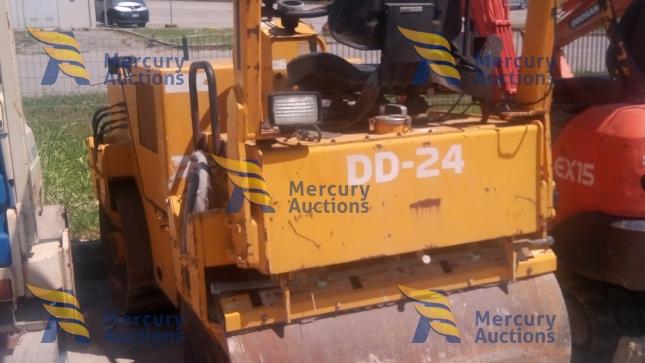 Rullo Ingersol-Rand DD24 SD190DX- rullo compattatore- aste online- usato (4)
