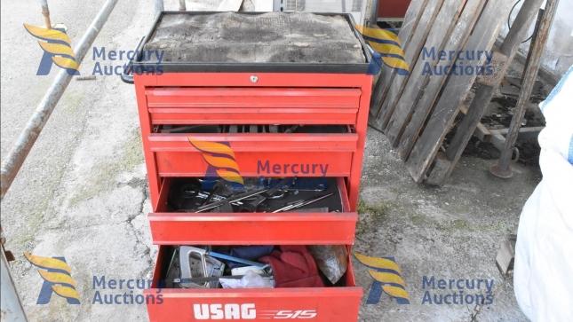 iron beams, halospots, printers, electrical iron toolboxes (2)