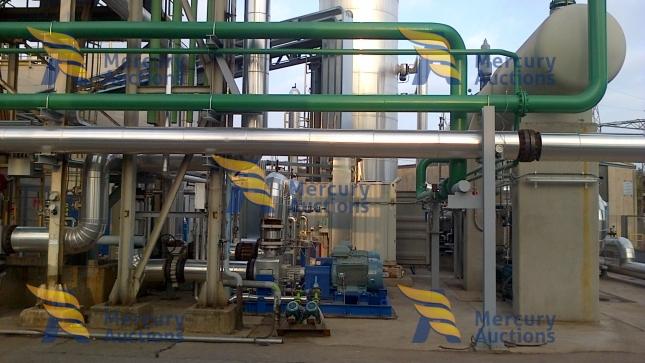 orc radial turbine cogeneration plant (1)