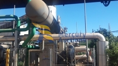 orc radial turbine cogeneration plant (4)