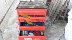 iron beams, halospots, printers, electrical iron toolboxes (2)