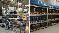 Macchinari e stampi per la produzione di vaschette in alluminio
