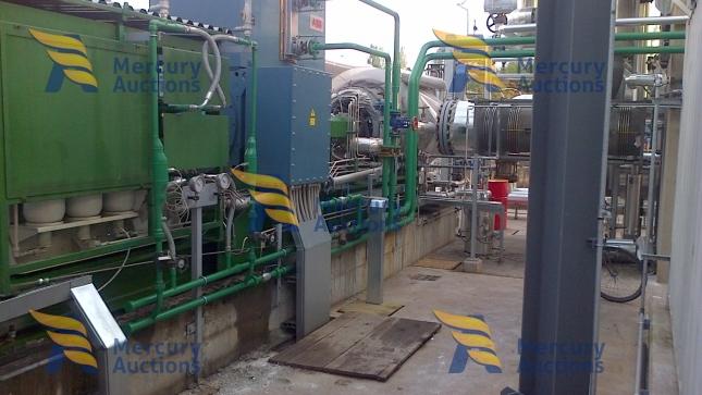 orc radial turbine cogeneration plant (3)