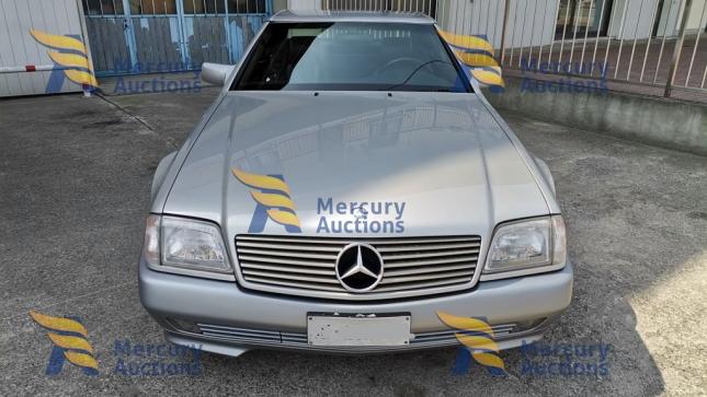mercede sl  320 - classic car